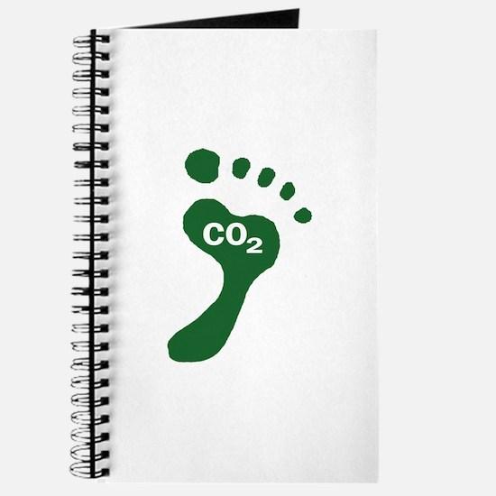 Carbon Footprint Foot Journal