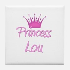 Princess Lou Tile Coaster