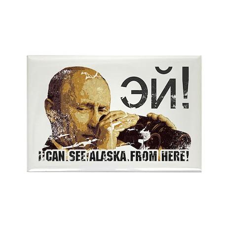 Putin's Palin Rectangle Magnet (10 pack)