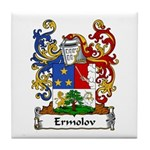 Ermolov Family Crest Tile Coaster