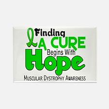HOPE Muscular Dystrophy 5 Rectangle Magnet
