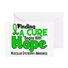 HOPE Muscular Dystrophy 5 Greeting Card
