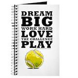 Tennis Journals & Spiral Notebooks