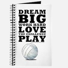 Dream Big Volleyball Journal