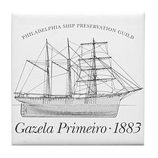 Classic Gazela Tile Coaster