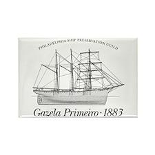 Classic Gazela Rectangle Magnet