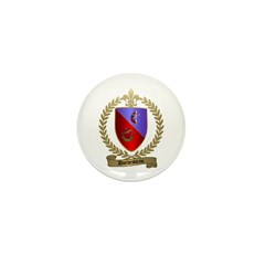DUCHESNEAU Family Crest Mini Button (100 pack)