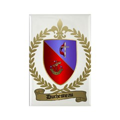 DUCHESNEAU Family Crest Rectangle Magnet (100 pack