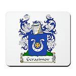 Gerasimov Family Crest Mousepad