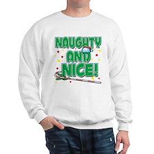NAUGHTY AND NICE! Sweatshirt