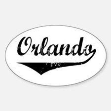 Orlando Oval Decal
