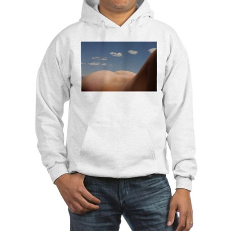 153. cloudz bottom? Hooded Sweatshirt