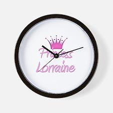 Princess Lorraine Wall Clock