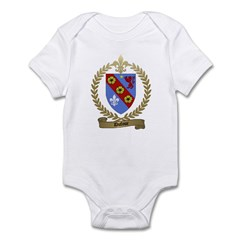 DUFOUR Family Crest Infant Creeper