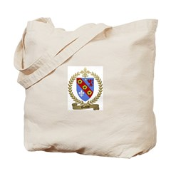 DUFOUR Family Crest Tote Bag