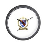 DUFOUR Family Crest Wall Clock