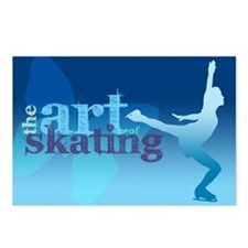 Figure Skating Postcards (Package of 8)