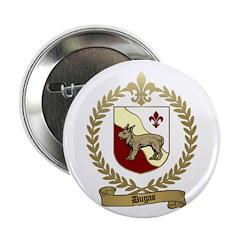 DUGAS Family Crest Button