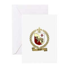 DUGAS Family Crest Greeting Cards (Pk of 10)