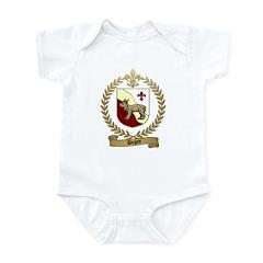 DUGAS Family Crest Infant Creeper