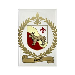 DUGAS Family Crest Rectangle Magnet (10 pack)