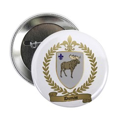 DUMAS Family Crest Button