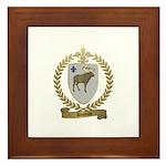 DUMAS Family Crest Framed Tile