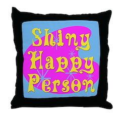 New Generation Shiny Happy Throw Pillow