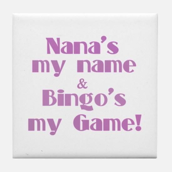 Nana and Bingo Tile Coaster