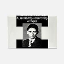 Funny Kafka Rectangle Magnet