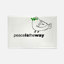 Peace is the Way Rectangle Magnet