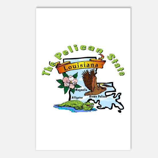 """""""Louisiana Pride"""" Postcards (Package of 8)"""