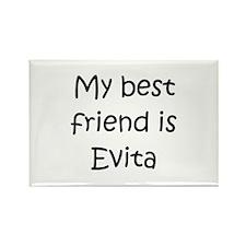 Funny Evita Rectangle Magnet