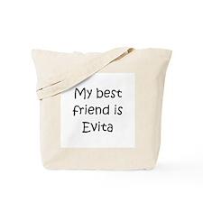 Cool Evita Tote Bag