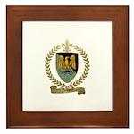 FOUQUET Family Crest Framed Tile
