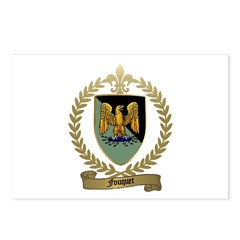 FOUQUET Family Crest Postcards (Package of 8)