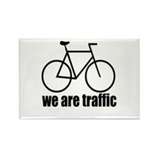 We Are Traffic Rectangle Magnet
