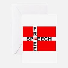 Free Speech Greeting Cards (Pk of 10)