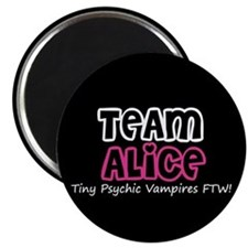 Team Alice Twilight Magnet