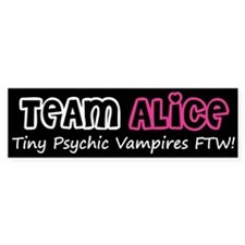 Team Alice Twilight Bumper Bumper Sticker