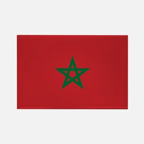 Flag: Morocco Rectangle Magnet
