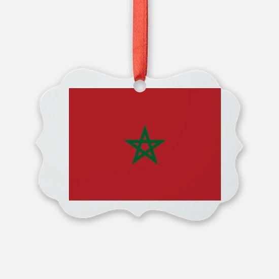 Flag: Morocco Ornament