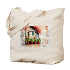 Four Plants & New Collage Tote Bag