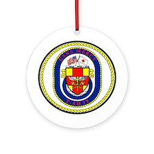 USS Mercy T-AH 19 Ornament (Round)