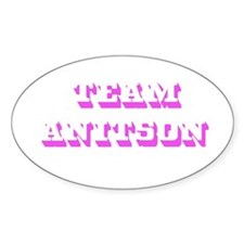 Team Jennifer Aniston Oval Decal