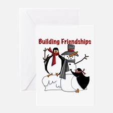 Building Friendships Greeting Card