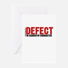 Defect.. Greeting Cards (Pk of 20)