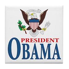 President Obama inauguration Tile Coaster