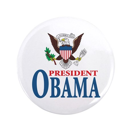 "President Obama inauguration 3.5"" Button (100"