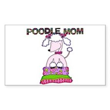 Poodle Mom Decal